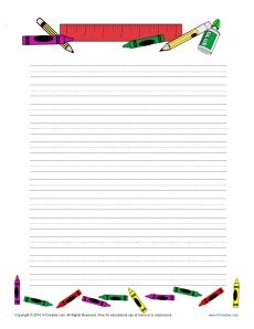 10 best images about blank writing templates on pinterest for Themed printer paper