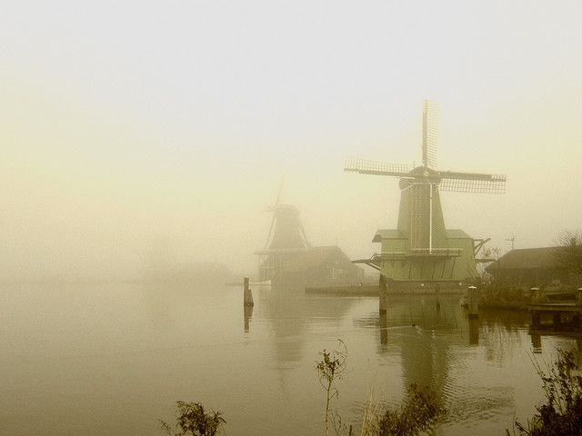 The Netherlands, view on the zaanse schans