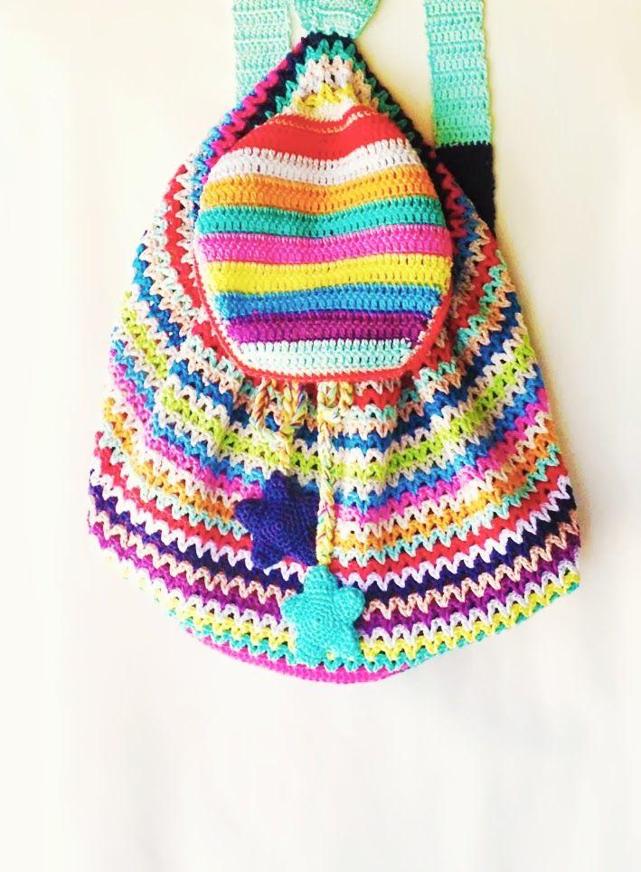 16 best Taschen häkeln und stricken images on Pinterest | Gehäkelte ...