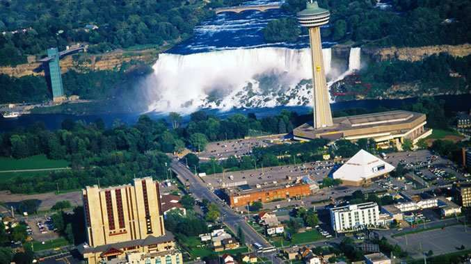 Spend 2 nights at Niagara Falls Doubletree Inn (one on the way to MI, one on the way home)