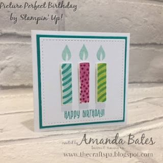 The Craft Spa - Stampin' Up! UK independent demonstrator : Picture Perfect Birthday Class Favourite....