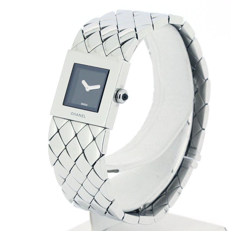【商品名】シャネル(CHANEL) H0009 マトラッセ クオーツ SS レディース 時計【価格】¥ 67,800【状態】AB  多少の傷・汚れが見受けられる中古商品です。