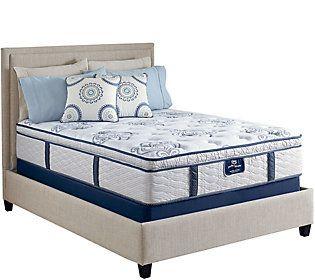 Serta Perfect Sleeper Elite Dreamboat Pillowtop Queen Mattress Set