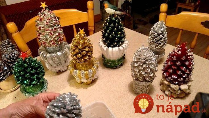 Inšpirujte sa najkrajšími nápadmi na vianočné ozdoby, ktoré si ľahko môžete zhotoviť aj u vás doma.