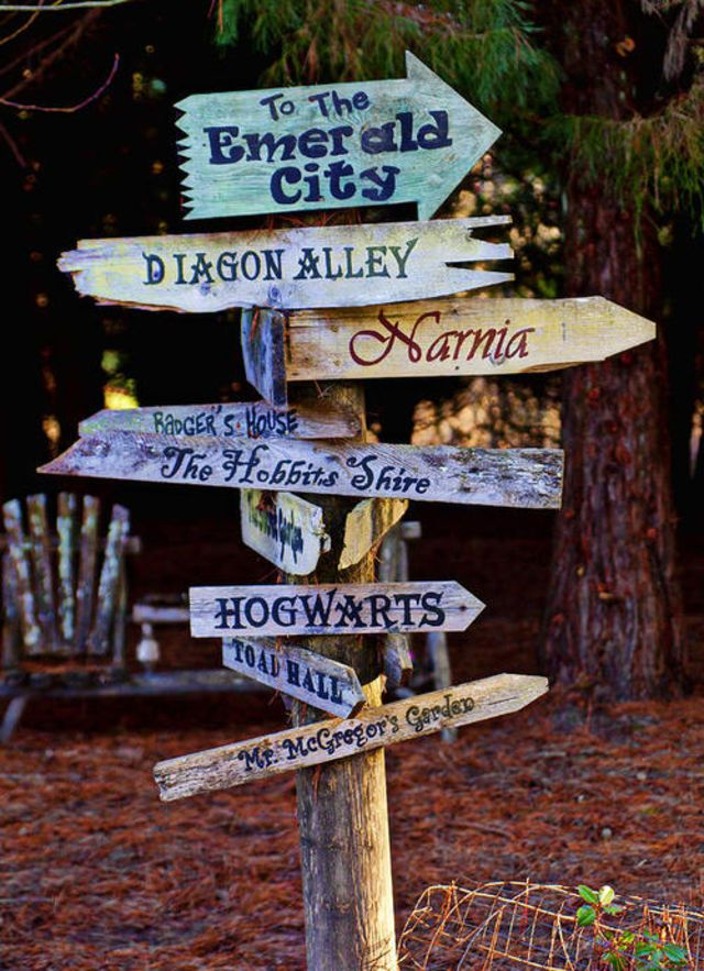 Need to have a sign like this somewhere on our back property, replace some of them with our favorites