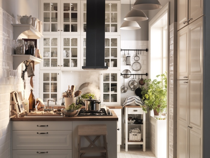 22 best images about kitchen days ikea on pinterest - Cuisine amenagee pour petite piece ...