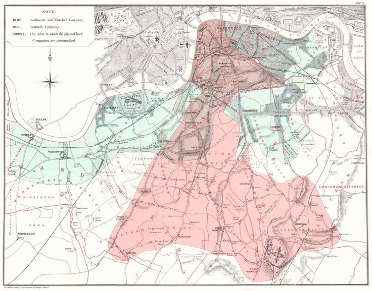 john snow, cholera map