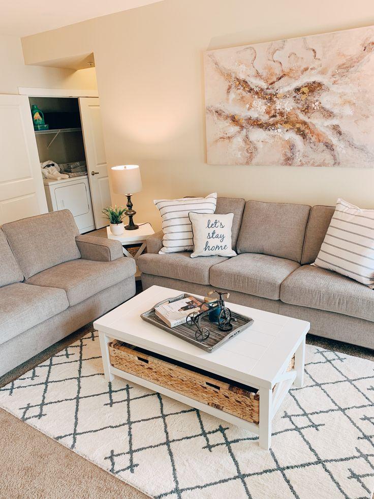 Farmhouse Living Room in 2020 | Farm house living room ...