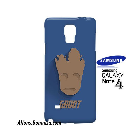 Groot Superhero Samsung Galaxy Note 4 Case