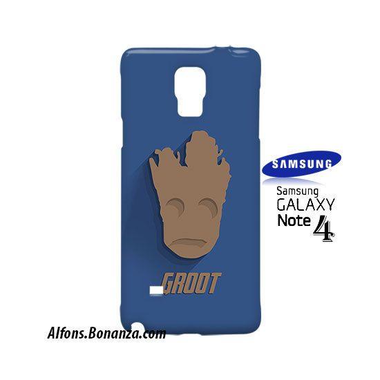 Groot Superhero Samsung Galaxy Note 4 Case