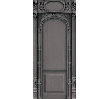 KOZIEL!!! Costume de portes et murs en velours Arche Haussmannienne noire