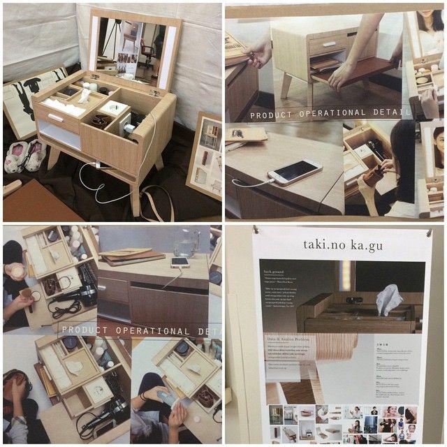 #carolinakencana #uph #productdesign #furniture #finalassignment #interior — at At campus UPH building B.
