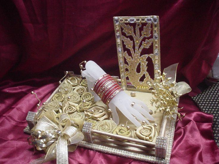 indian decoration ideas   ... dubai trousseau packing shaadi decorative packing decoration for saree