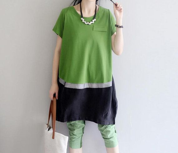 summer Loose Fitting oversize Long T Shirts