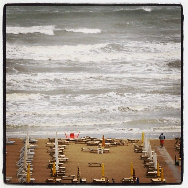 Rimini in a cloudy september day - Instagram by @dig79