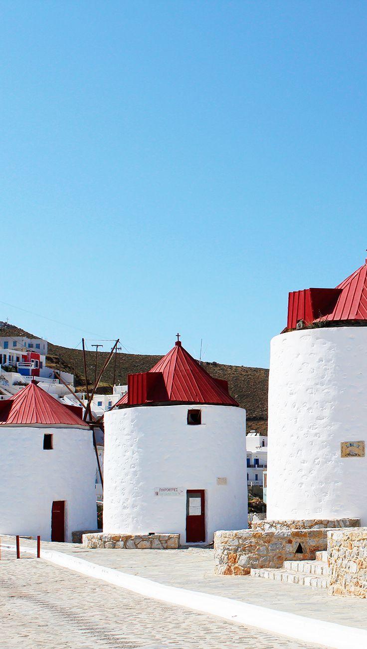 Windmills of Astypalea, Greece