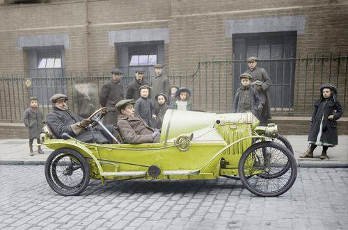 A Bedelia cyclecar - Stilltime Collection Prints - Easyart.com