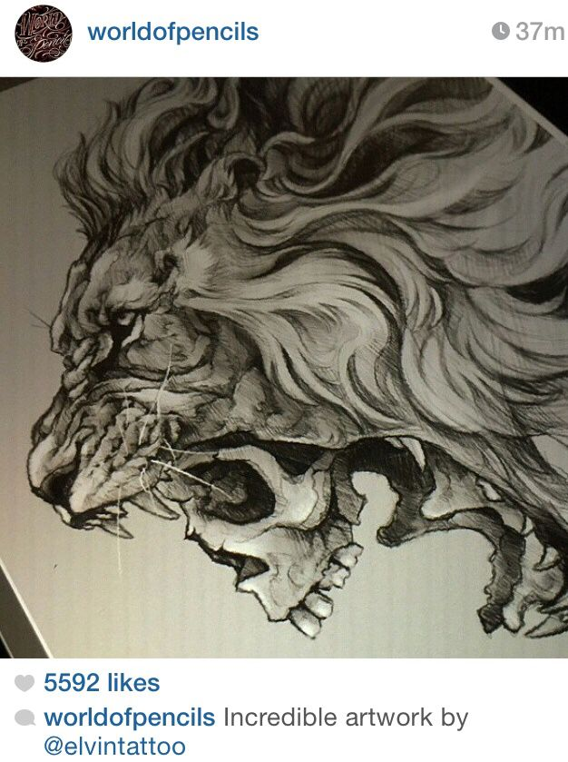Beautiful work, I will have my lion tattoo one day, and I'm seriously considering this one.