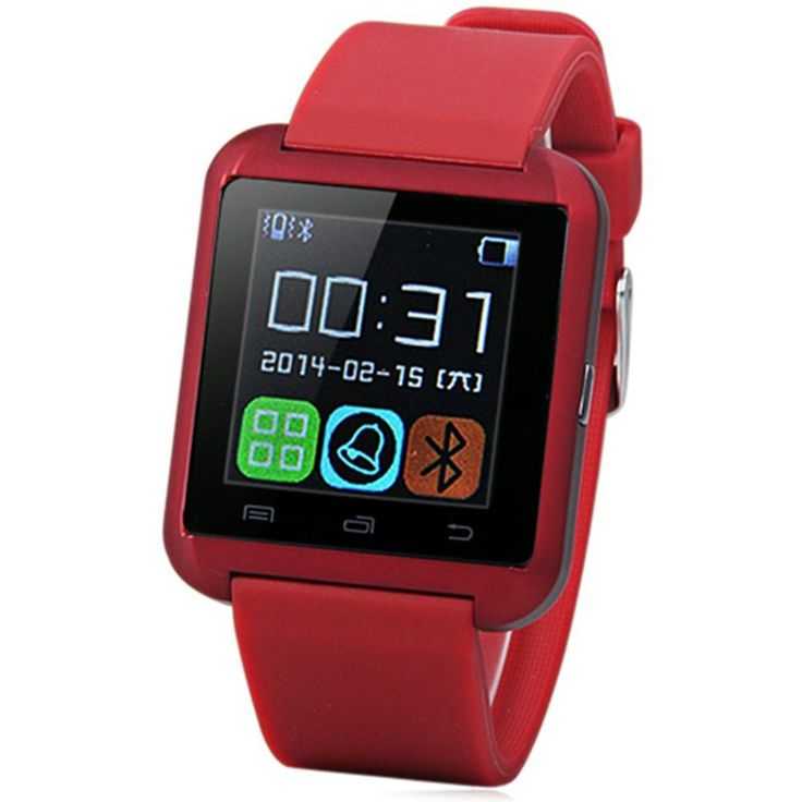 Bluetooth Smart Watch U8 Wrist Watch U8 SmartWatch For iPhone 4/4S/5/5S/6 and Samsung S4/Note/s6 HTC Android Phone Smartwatch