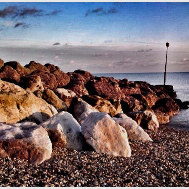 Hythe beach