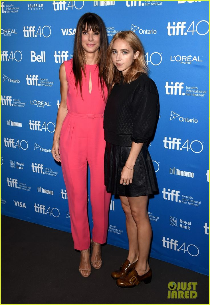sandra bullock cried when her son started kindergarten 01 Sandra Bullock poses for a photo with co-star Zoe Kazan while attending the press conference for Our Brand Is Crisis held during the 2015 Toronto International Film…