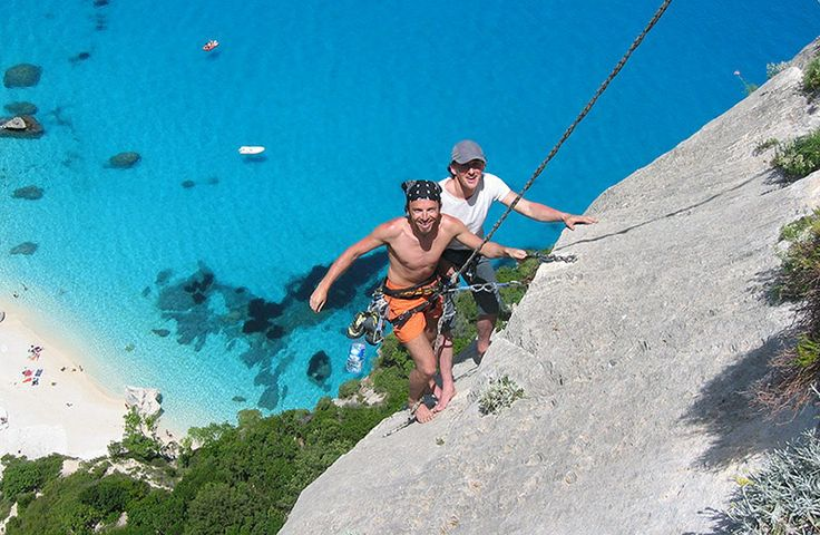 Climbing the Cala Gonone, Sardinia - For the adrenaline junkies!