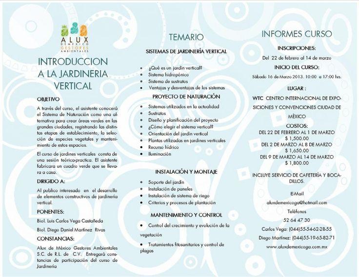 Curso de Jardinería Vertical en WTC de la Ciudad de México - Chilanga Banda #Mexico