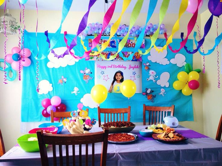 Toopy & Binoo themed Party