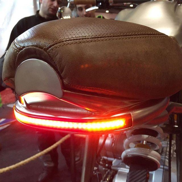 1pc Led Brake Turn Signal License Plate Light Strip For Motorbike Bobber Cafe Racer Atv Tail Light Stop Light Review Cafe Racer Stop Light Bobber