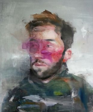 "Like this style of portret Saatchi Online Artist Lou ROS; Painting, ""DLR4 ( SOLD )"" #art"