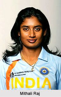 Mithali Raj is a popular face in women's cricket in India and has played both the ODI and Test versions for India. For more visit the page. #cricket #sports #women