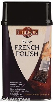 Liberon easy #french #polish 250ml - clear brush on finish restore wood #furnitur, View more on the LINK: http://www.zeppy.io/product/gb/2/140885992793/