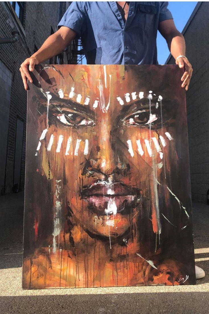Chicago beauty blackart portraits wow art