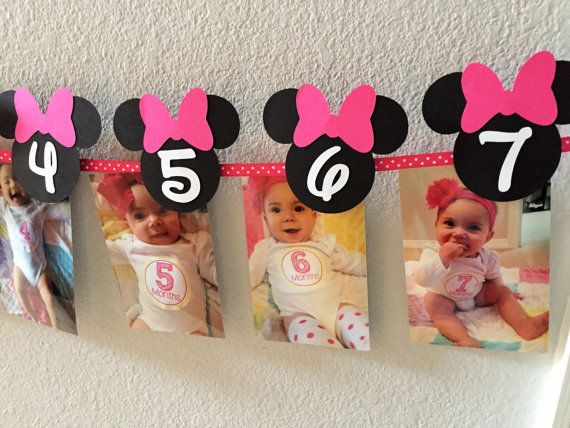 Minnie Mouse Birthday Party First Year by sweetheartpartyshop