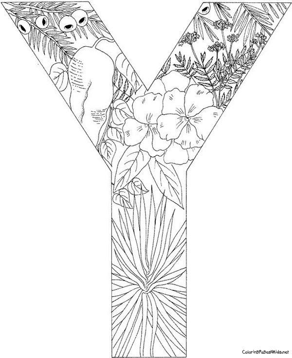 Alphabet Coloring Pages Advanced : Best coloring pages images on pinterest