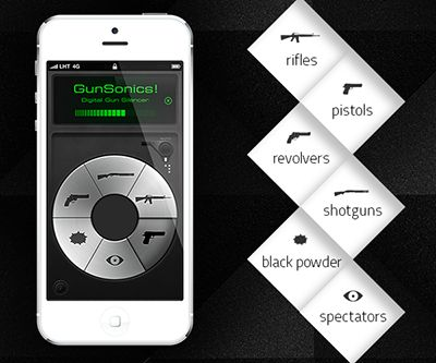 GunSonics! Electronic Ear Protection iPhone App