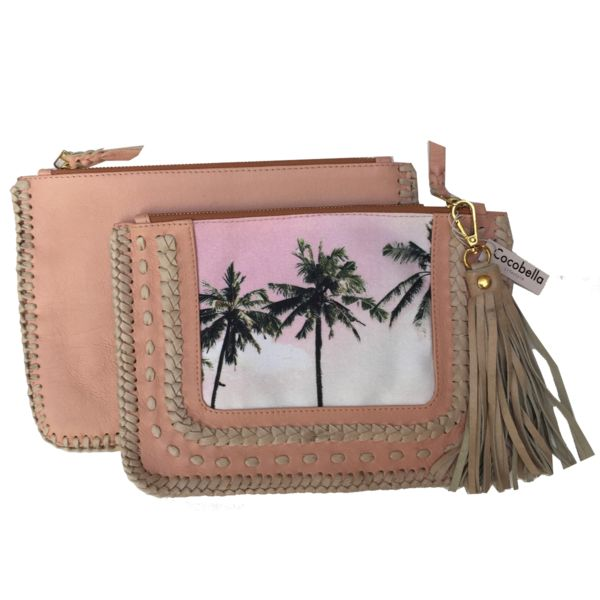 Bali Palms Window Clutch