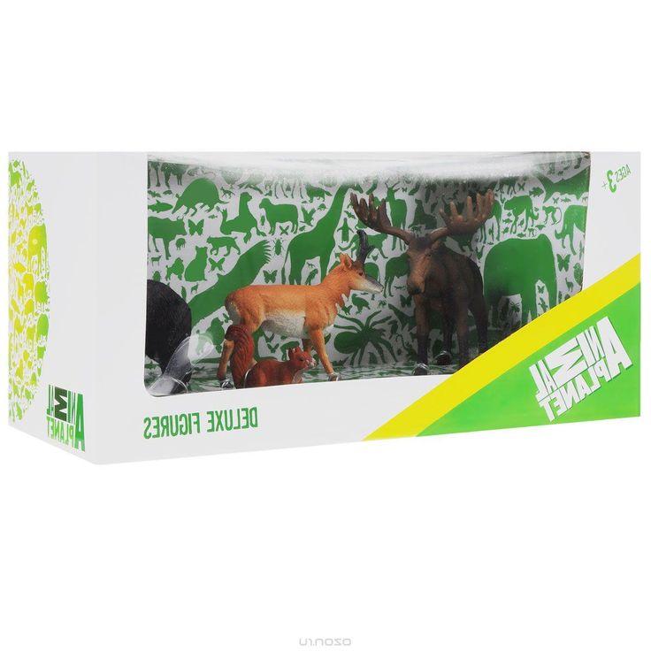 Набор фигурок Mojo Лесные животные 3, 4 шт