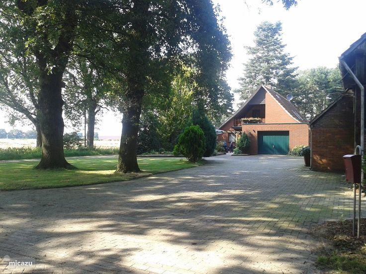 Vakantiehuis Duitsland met paard, Nedersaksen, Laar, Haus Vidrus an der Vechte