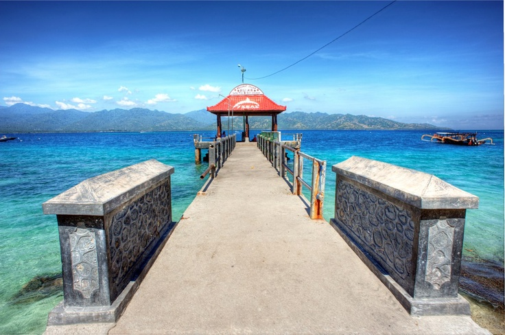 Gili Air Jetty, by 7SEAS