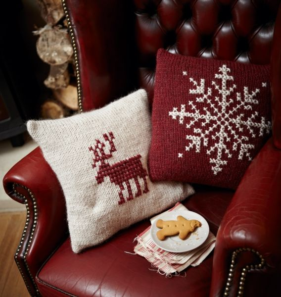 SEASONAL – CHRISTMAS – the magic of the holiday makes another appearance in an adorable presentation of holiday decor with christmas cushions.