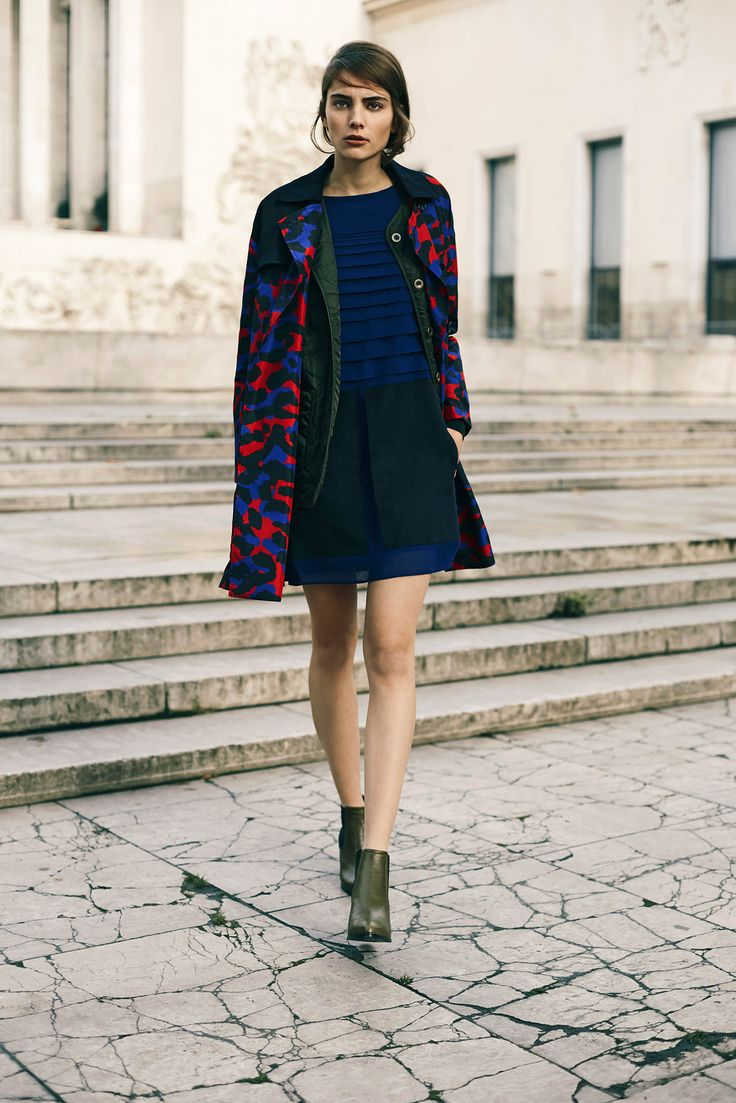 Sonia by Sonia Rykiel Pre-Fall 2015 - Collection - Gallery - Style.com  color combo