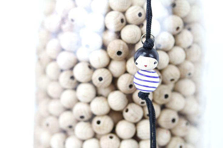 Zip Marini�re Bleu : LeS PoiS PlumeS, la boutique