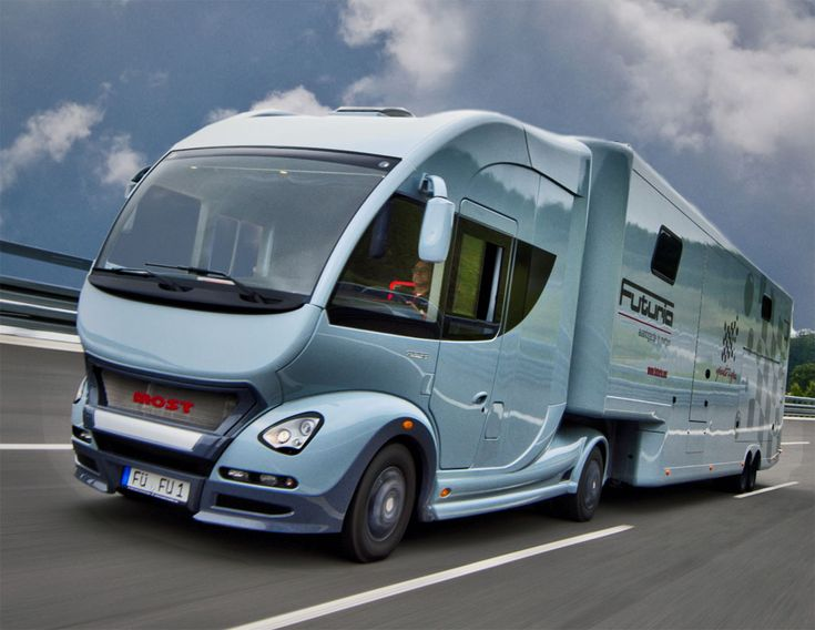 Futuria Motorhome.  ;-) ;-) ;-) Cool...its too bad i can't even drive but i would want one of these to just to head to Canada or the Mexican border even if i was lost somewhere in between it would be better.......