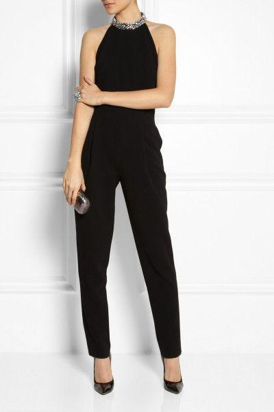 Sheer Black Jumpsuit for Women | Jumpsuits Full length jumpsuits Emilio Pucci Jumpsuits