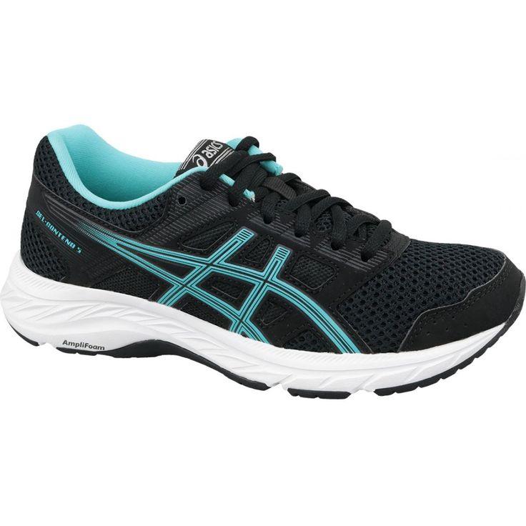Running Shoes Asics Gel Contend 5 W 1012a234 003 Black Asics Running Shoes Asics Women Shoes Running Shoes