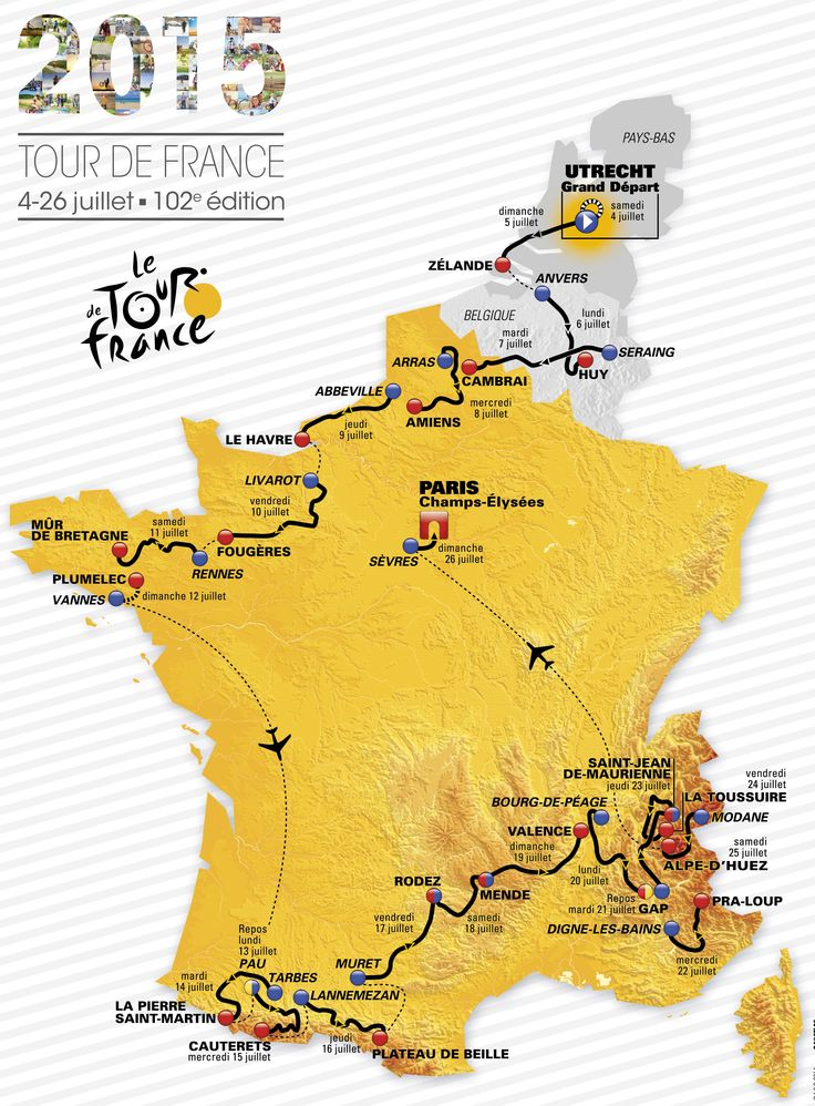 Tour de France 2015 route revealed - Cycling Weekly