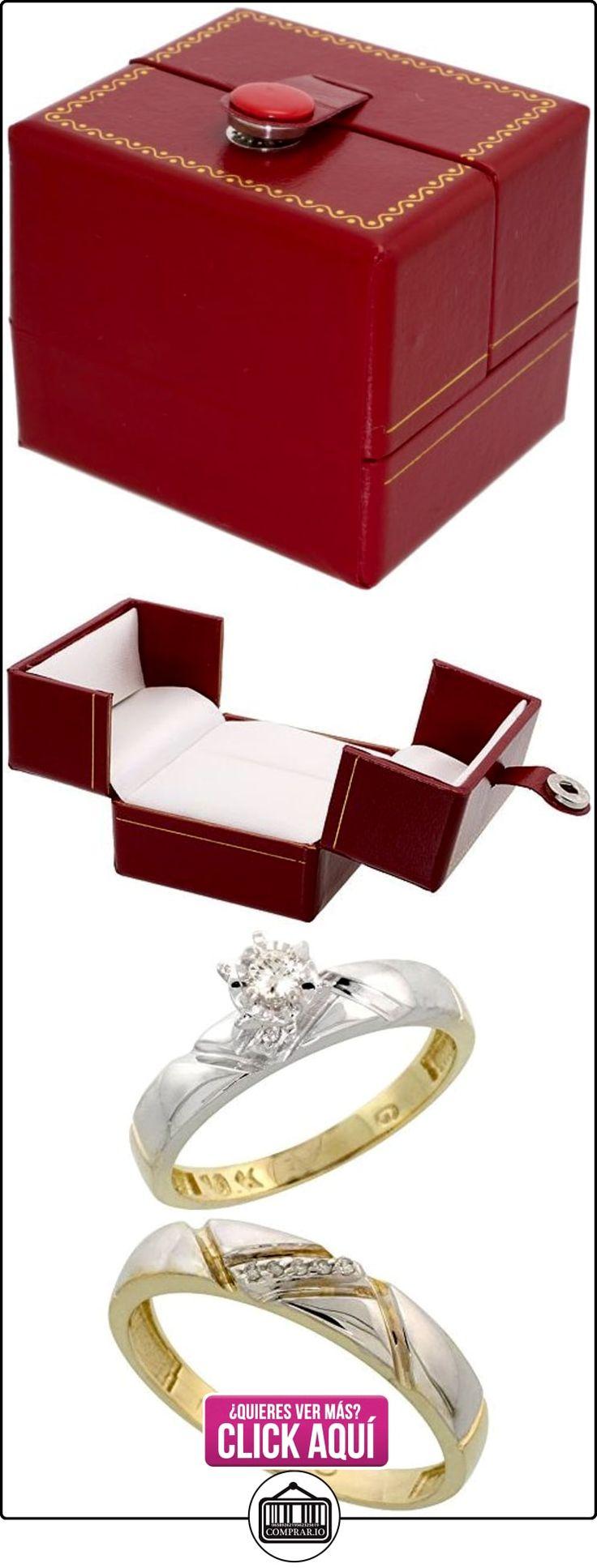 Revoni - Anillo de compromiso de oro amarillo  ✿ Joyas para hombres especiales - lujo ✿ ▬► Ver oferta: http://comprar.io/goto/B005M2Z20Y