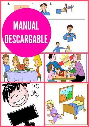 Este es un manual de instrucciones para un chico con Asperger, una mezcla de historias sociales y pautas de aprendizaje.