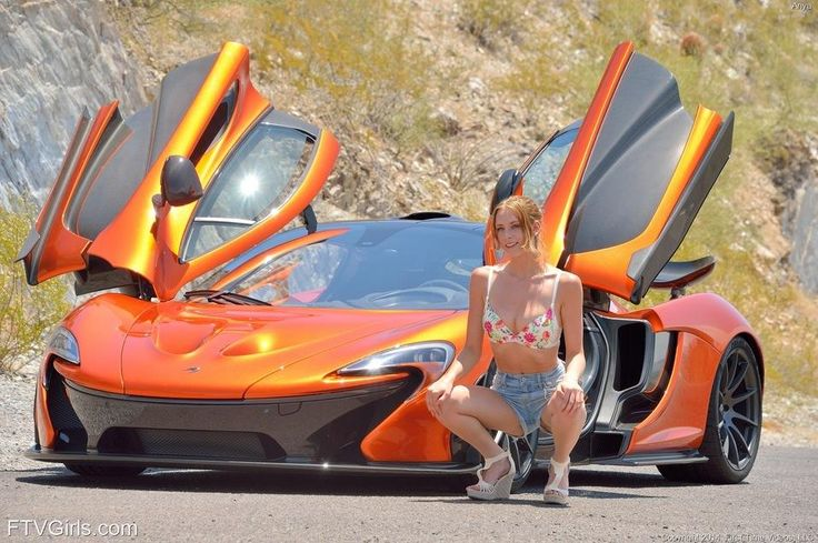 Sexy girls and super cars